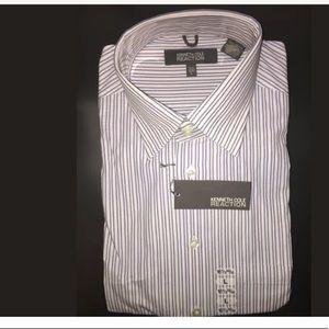 NEW Men's Dress Shirt Kenneth Cole Reaction Size16